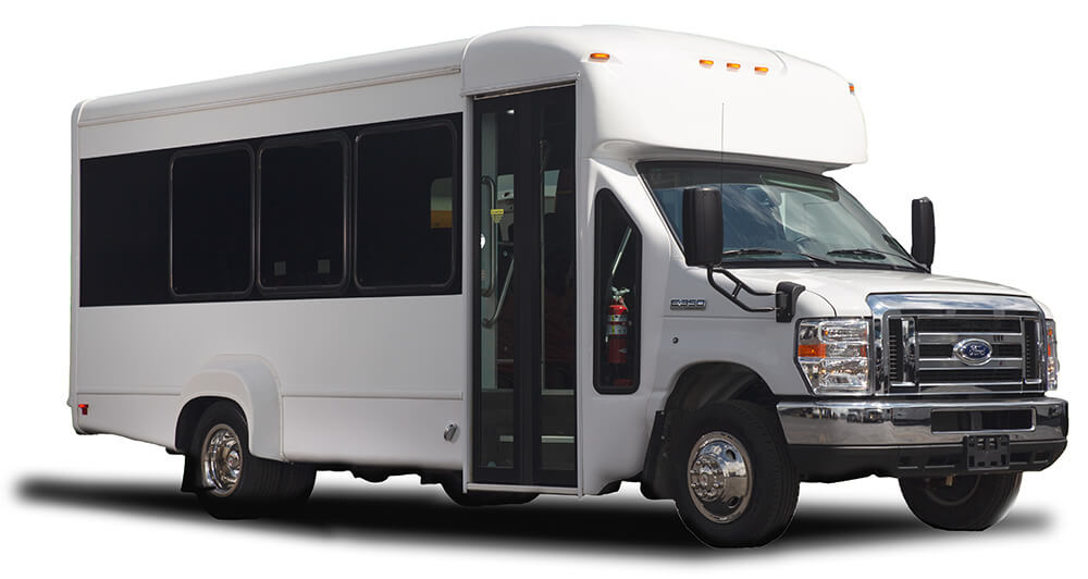 15 passenger shuttle bus exterior 2