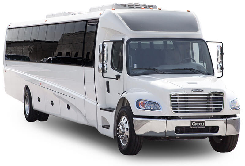 commercial shuttle bus for rent