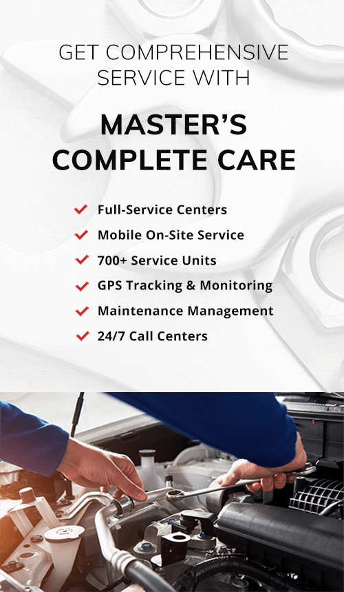 masters complete care vehicle service program