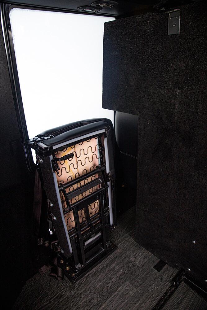 30 passenger luxury shuttle rear entry