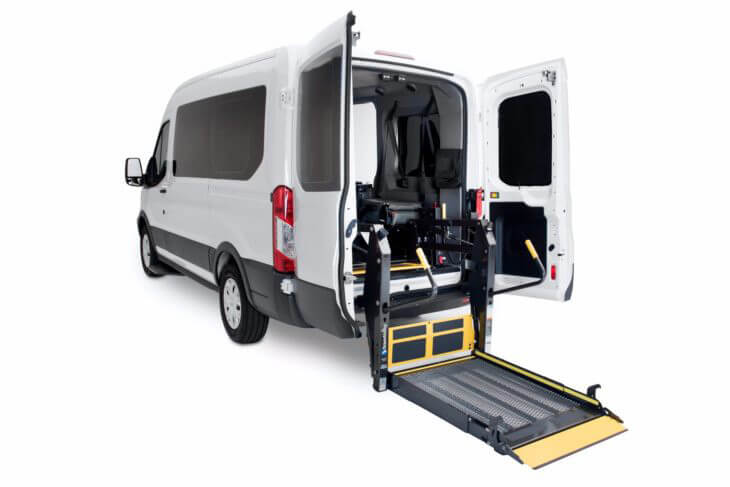 ford transit wheelchair van rental