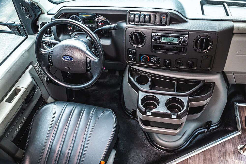 minbus drivers seat