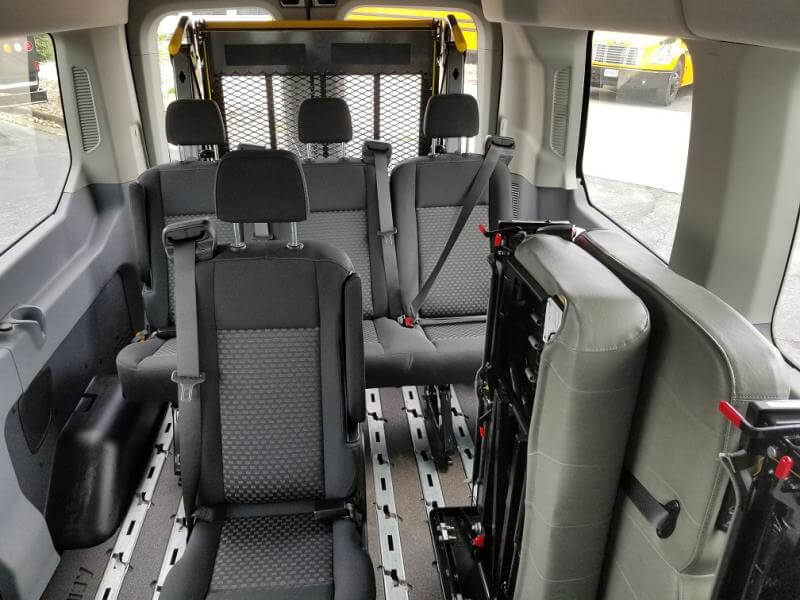 wheelchair van floor plans