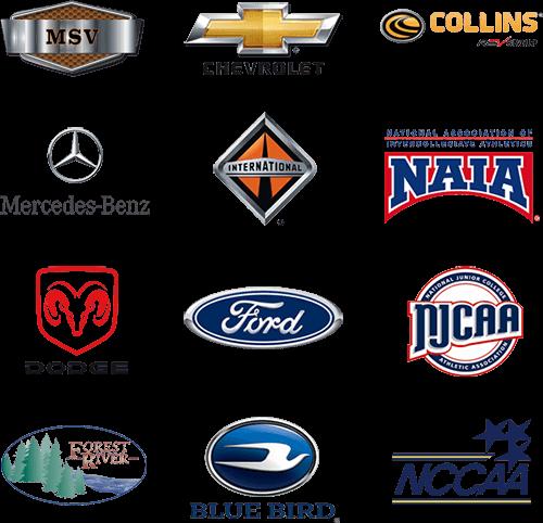 transportation partner logos 3 m
